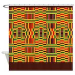 African Kente Shower Curtain