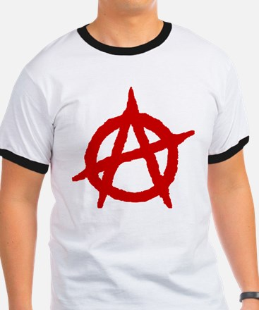 Anarchist 1 (red) T-Shirt