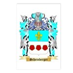 Scheinberger Postcards (Package of 8)