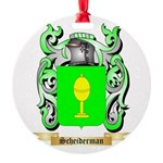 Scheiderman Round Ornament