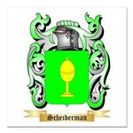 Scheiderman Square Car Magnet 3