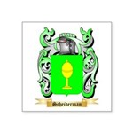 Scheiderman Square Sticker 3