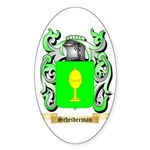 Scheiderman Sticker (Oval)