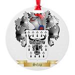 Schap Round Ornament