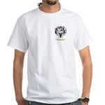Schaffer White T-Shirt