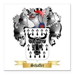 Schaffer Square Car Magnet 3