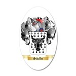 Schaffer 35x21 Oval Wall Decal