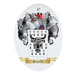 Schaffe Oval Ornament