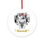 Schaffe Round Ornament