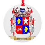 Scepanovic Round Ornament