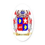 Scepanovic Oval Car Magnet