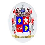 Scepanovic Oval Ornament
