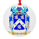 Scarff Round Ornament