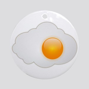 Sunny Side Up Round Ornament
