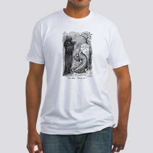 Scrooge's Grave Fitted T-Shirt