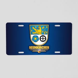 Neunkirchen Aluminum License Plate