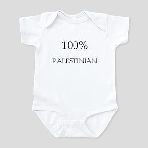 100% Palestinian Infant Bodysuit
