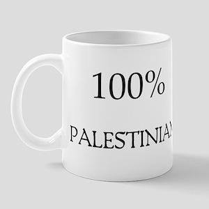 100% Palestinian Mug