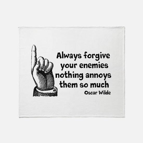Annoy Enemies Throw Blanket