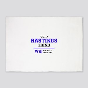 HASTINGS thing, you wouldn't unders 5'x7'Area Rug