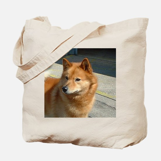 Cute Finnish spitz Tote Bag
