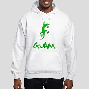 Guam Gecko Hoodie Hooded Sweatshirt