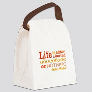 Daring Life Canvas Lunch Bag