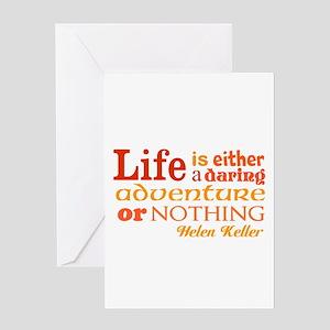 Daring Life Greeting Cards