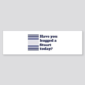 Hugged Stuart Bumper Sticker