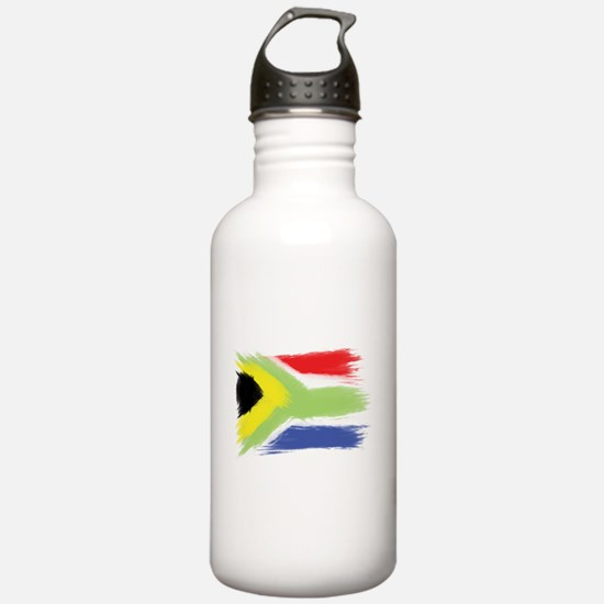 South Africa flag cape Water Bottle