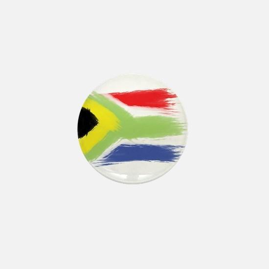 South Africa flag cape town Mini Button