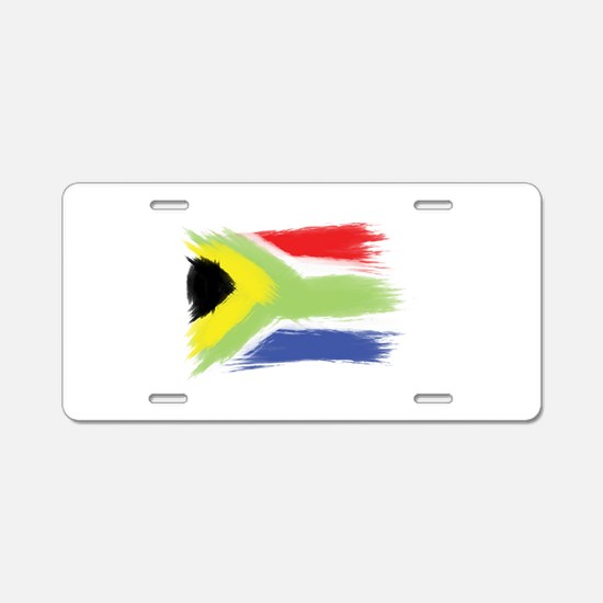 South Africa flag cape town Aluminum License Plate