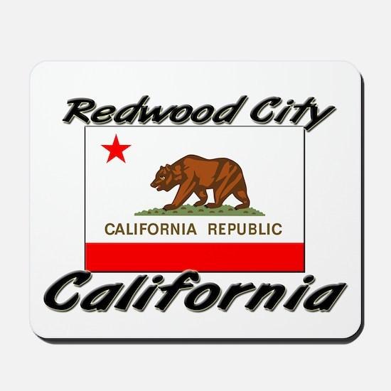 Redwood City California Mousepad