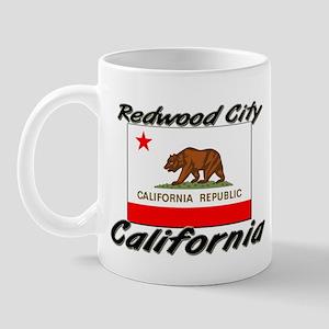 Redwood City California Mug