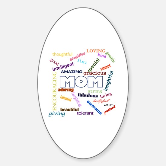 Funny Funny mothers day Sticker (Oval)