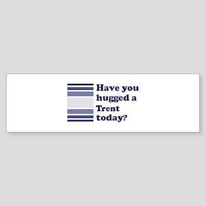 Hugged Trent Bumper Sticker