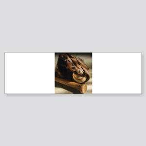 baseball glove Bumper Sticker