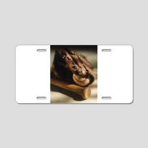 baseball glove Aluminum License Plate