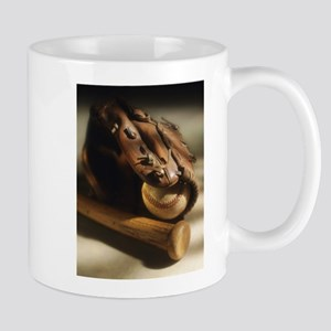 baseball glove Mugs