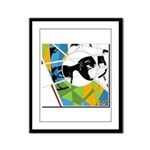 Design 160326 - Poppino Beat Framed Panel Print