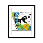 Design 160326 - Poppino Beat Framed Panel Print