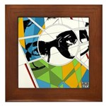 Design 160326 - Poppino Beat Framed Tile