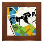 Design 160326 - Poppino Beat Framed Tile