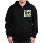 Design 160326 - Poppino Beat Zip Hoodie