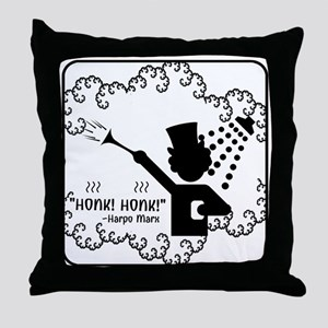 """Honk! Honk!"" Throw Pillow"