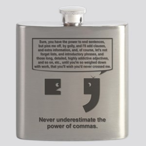 The Power of Commas Flask