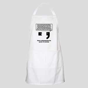 The Power of Commas Apron