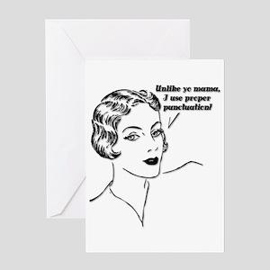 Yo Mama Greeting Card