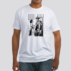 Evolution of English Fitted T-Shirt
