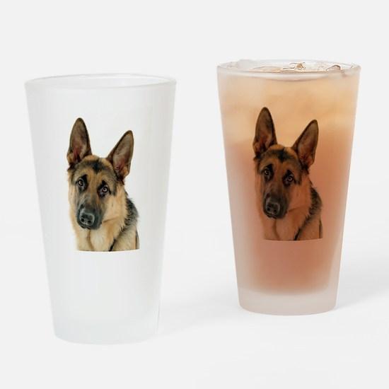 german shepherd Drinking Glass